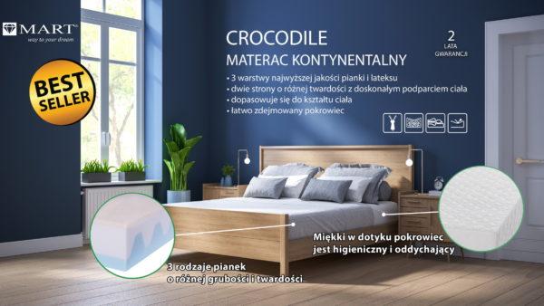 CROCODILE Latex 21/160/200