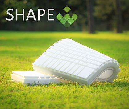 Materace SHAPE 3D